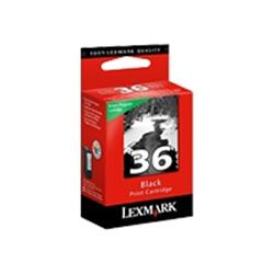 Lexmark No.36 Black Return Cartridge