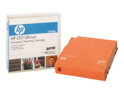 HPE Ultrium Universal Cleaning Cartridge - LTO Ultrium - orange - cleaning cartridge