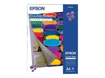 Epson Double-Sided Matte Paper - Two-sided matte paper - A4 (210 x 297 mm) - 178 g/m2 - 50 sheet(s)