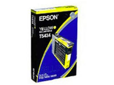 Epson T5434 - Print cartridge - 1 x pigmented yellow