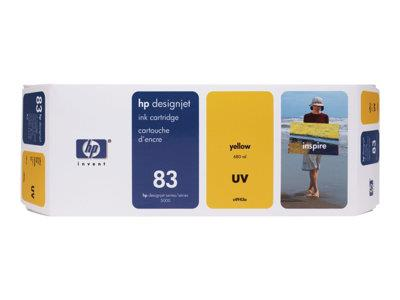 HP 83 680-ml Yellow UV Ink Cartridge