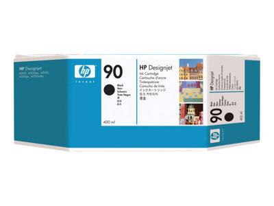 HP 90 400-ml Black Ink Cartridge