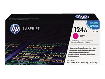 HP 124A Magenta Original LaserJet Toner Cartridge