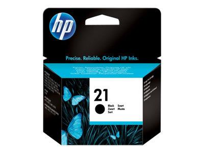 HP No 21 - Print cartridge - 1 x black