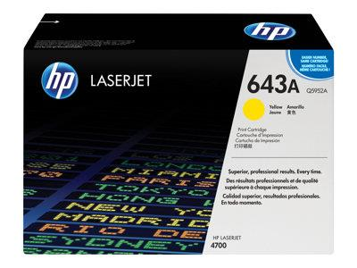 HP 643A Yellow Original LaserJet Toner Cartridge