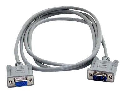 StarTech.com 6ft VGA Monitor Extension Cable - HD15 M/F
