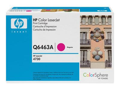 HP 644A Magenta Original LaserJet Toner Cartridge