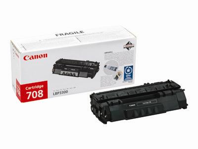 Canon 708 Black Toner Cartridge 2.5k Yield