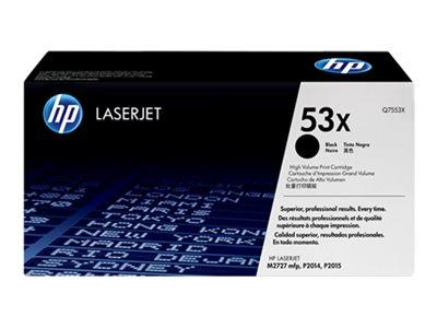 HP 53X High Yield Black Original LaserJet Toner Cartridge