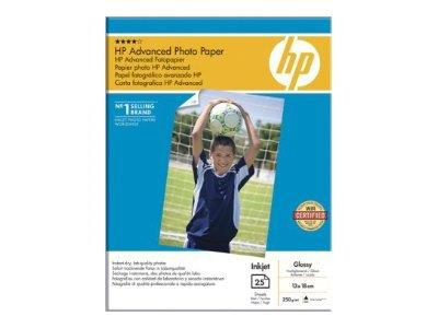 HP Advanced Glossy Photo Paper-25 sheet/13 x 18 cm borderless