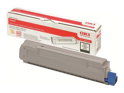 OKI 43487712 Black 6K Toner Cartridge