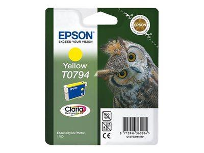 Epson C13T079440A0 Yellow Ink Cartridge for Photo 1400