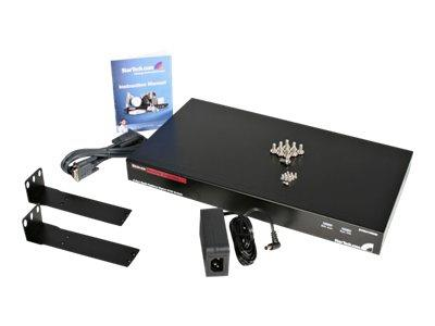 StarTech.com 8 Port Rackmount USB PS/2 Digital IP KVM Switch