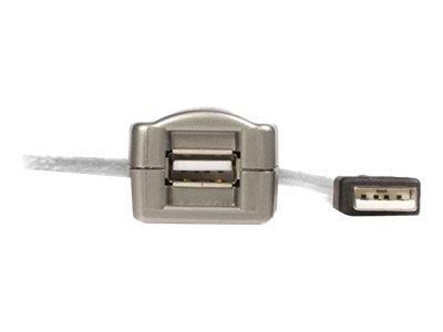 StarTech.com 16 ft USB 2.0 Active Extension Cable - M/F