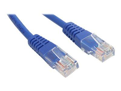 StarTech.com 100 ft Cat5e Blue Molded RJ45 UTP Cat 5e Patch Cable