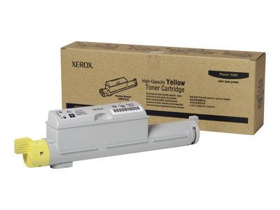 Xerox Yellow High Capacity Toner for Phaser 6360