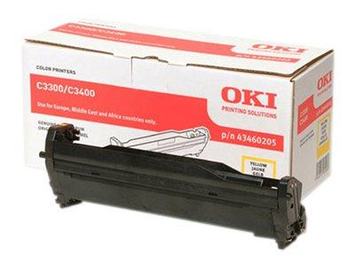 OKI Yellow Cartridge for C3300/C3400 Series