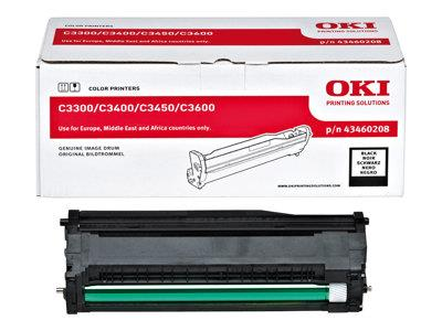 OKI Black Drum Unit for C3300/C3400 Series