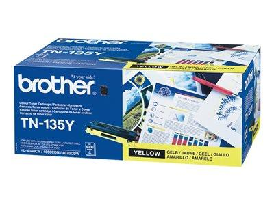 Brother TN135Y Yellow Toner Cartridge
