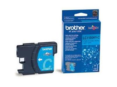 Brother LC1100HYC - Print cartridge - High Yield - 1 x cyan