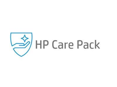 HP Care Pack NBD Hardware Support for Travelers with Defective Media Retention 3 Years On-Site