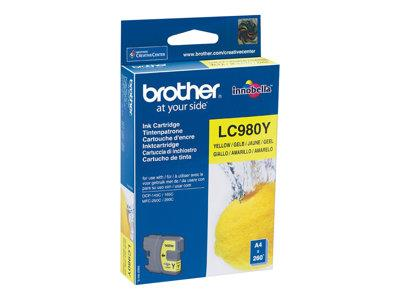 Brother LC980 Yellow Ink Cartridge