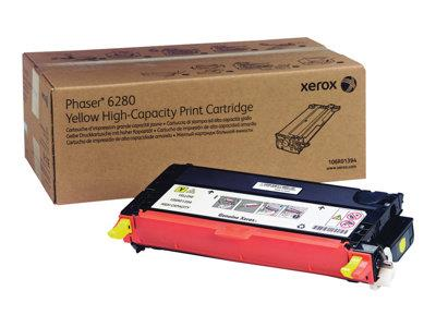 Xerox Yellow High Cap Toner for 6280