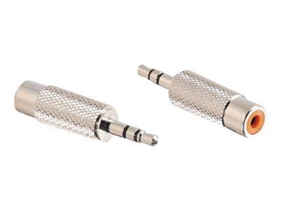C2G 3.5mm Stereo Male to RCA Stereo Female Adapter