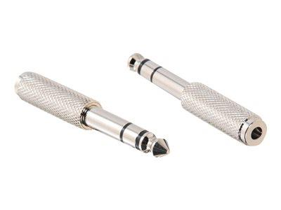 C2G 6.3MM STEREO MALE TO 3.5MM STEREO FEMALE
