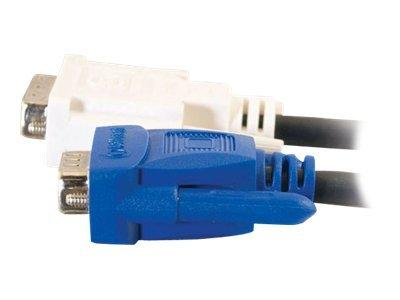 C2G 3m DVI-A Male to HD15 VGA Male Analogue Video Cable
