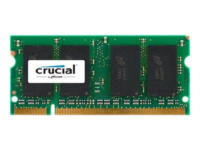 Crucial 2GB, 200-pin SODIMM, DDR2 PC2-6400
