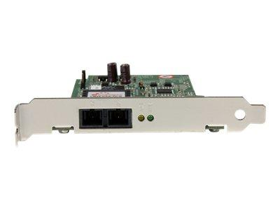 StarTech.com 1000 Mbps Gigabit Ethernet Multi Mode SC Fiber PCI Express Card - 550m