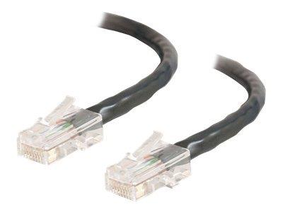C2G 1.5m Cat5E 350 MHz Crossover Patch Cable - Black