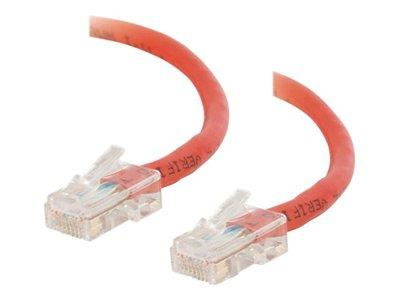 C2G 1m Cat5E 350 MHz Crossover Patch Cable - Red