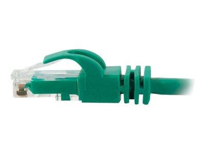 C2G 2m Cat6 550 MHz Snagless Patch Cable - Green