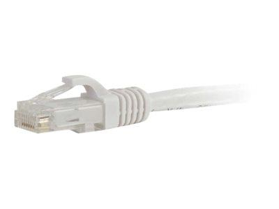 C2G .5m Cat6 550 MHz Snagless Patch Cable - White
