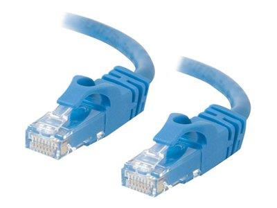 C2G 3m Cat6 550 MHz Snagless Crossover Cable - Blue