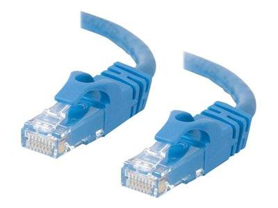C2G 5m Cat6 550 MHz Snagless Crossover Cable - Blue