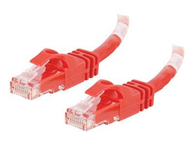 C2G 1m Cat6 Crossover Cable Red