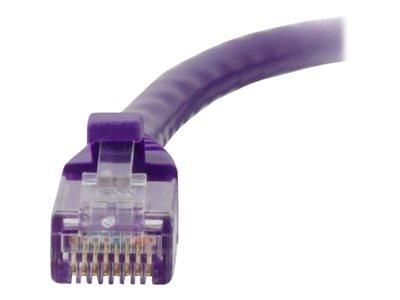 C2G 1m Cat5E 350 MHz Snagless Patch Cable - Purple