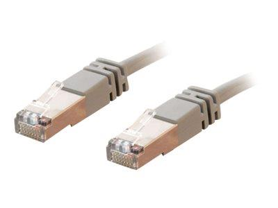 C2G 20m Shielded Cat5E Moulded Patch Cable - Grey