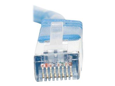 C2G 1m Shielded Cat5E Moulded Patch Cable - Blue
