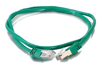 C2G 1m Shielded Cat5E Moulded Patch Cable - Green