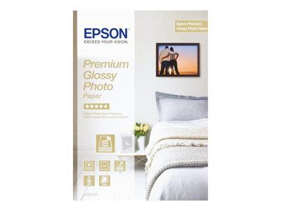 Epson Premium Glossy A4 Photo Paper 15 Sheets