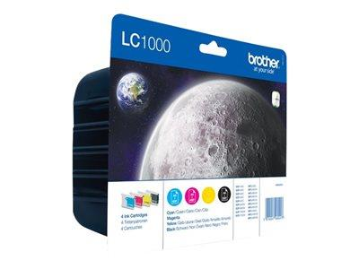 Brother LC1000 VALUE PACK LC1000BK/CY/