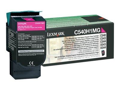 Lexmark Magenta High Yield Toner
