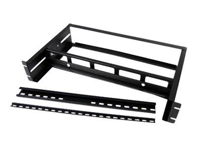StarTech.com Adjustable Rackmount DIN Rail Kit with Top Hat/Mini/G Rails
