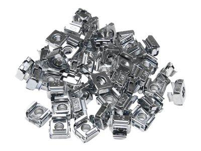 StarTech.com 50 Pkg M5 Cage Nuts for Server Rack Cabinets