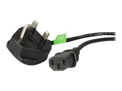 StarTech.com 6 ft Standard UK Computer Power Cord