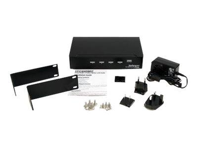 StarTech.com 4 Port High Speed HDMI Video Splitter w/ Audio